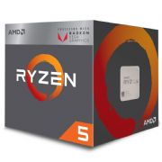 Processador AMD Ryzen 5 2400G Cooler Wraith Stealth 6MB, 3.6GHz (3.9GHz Max Turbo) AM4 YD2400C5FBBOX